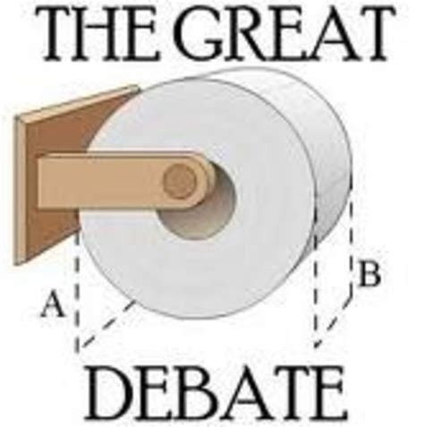 Toilet Paper Meme - the great toilet paper debate know your meme