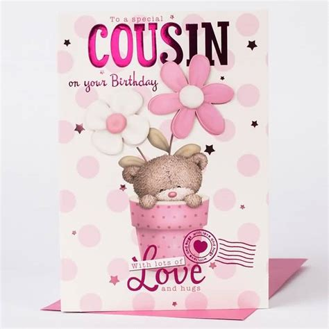 Happy Birthday To A Special Cousin by Cousin Birthday Wishes Nicewishes