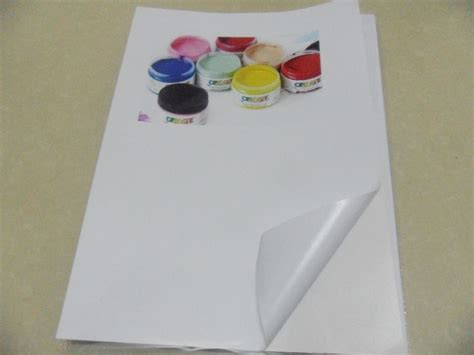 sticker printing paper a4 price wholesale price 500 sheets waterproof self adhesive a4