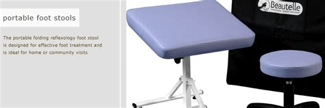 Reflexology Chairs And Stools by Beautelle Portable Foot Stool For Reflexologists