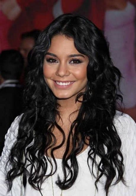 black hairstyles for long hair round face layered hairstyles for long hair round face