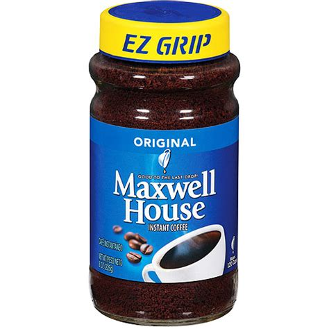 maxwell house instant coffee maxwell house instant coffee 8 oz walmart com