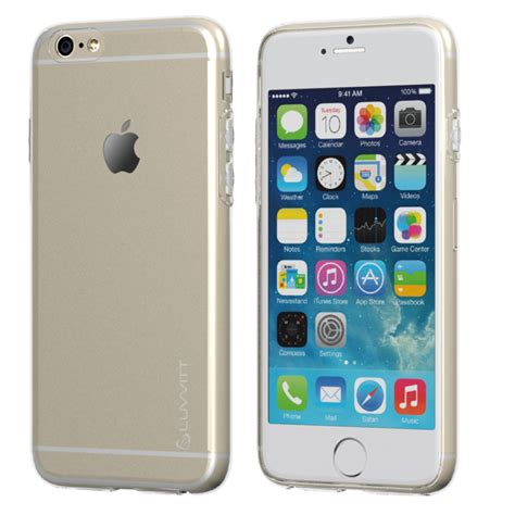 Best Casing Cover Slim Iphone 5 6 6 7 7 Free Tempered Glass luvvitt ultra slim iphone 6s 6 0 6mm transparent