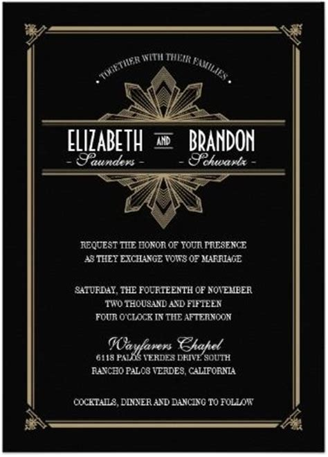 Great Gatsby Invitation Template Free Download Songwol Ff0036403f96 Great Gatsby Themed Invitation Template Free