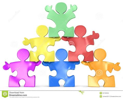 Credit Formation Individualisé Multicultural Human Pyramid Stock Images Image 34139334
