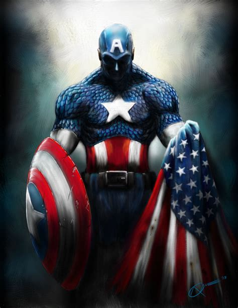 captain america wallpaper deviantart captain america by daa truth on deviantart