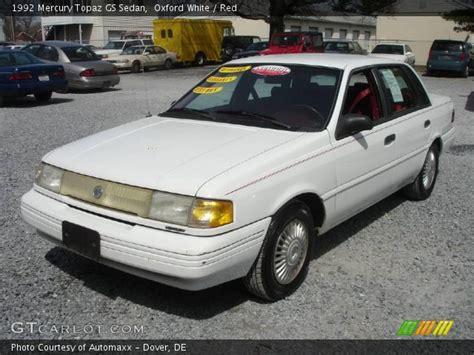 manual cars for sale 1991 mercury topaz regenerative braking oxford white 1992 mercury topaz gs sedan red interior gtcarlot com vehicle archive 6098903