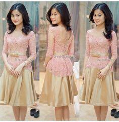 Gamis Satin 090 1000 images about dress brokat on kebaya