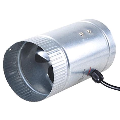 inline duct booster fan reviews 4 quot inch inline duct booster fan exhaust blower