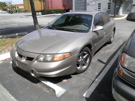 auto air conditioning service 2002 pontiac bonneville free book repair manuals buy used 2002 pontiac bonneville ssei low miles excellent clean southern car in miami florida