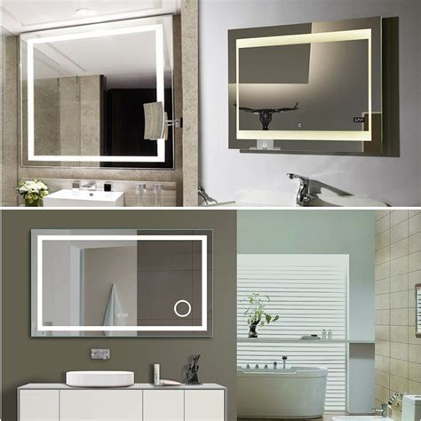 cheap bathroom cabinets with lights cheap ce sandblasting t5 light fluorescent wall