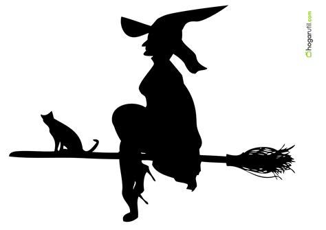 imagenes de brujas volando halloween siluetas de halloween de bruja 1 en decoraci 243 n