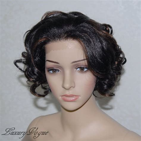 Wig Lace Front handsewn synthetic lace front ryhann wig 9124 1b30 ebay