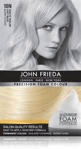 frieda precision foam color 10n sheer light frieda