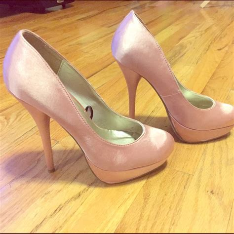 High Heels M41 21 40 forever 21 shoes high heel satin like pumps from s closet on poshmark