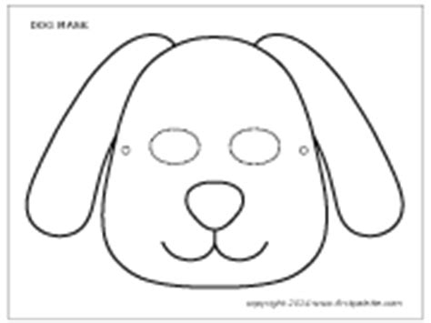 printable dog mask template dog mask printable templates coloring pages