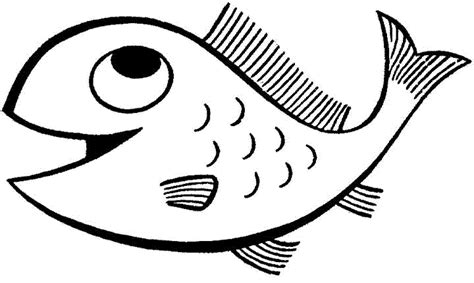 fish to color print and educative fish coloring pages