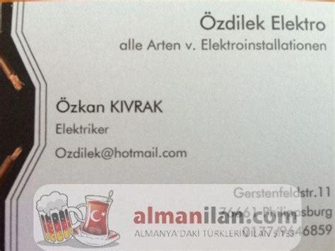 elektriker almanilancom