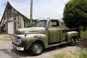 1950 ford f1 truck 1 2 ton bed v8 4 speed