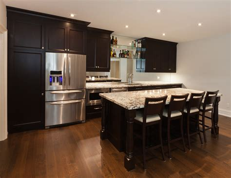 Small Finished Basement Creating A Basement Kitchenette Dream Kitchen And Baths