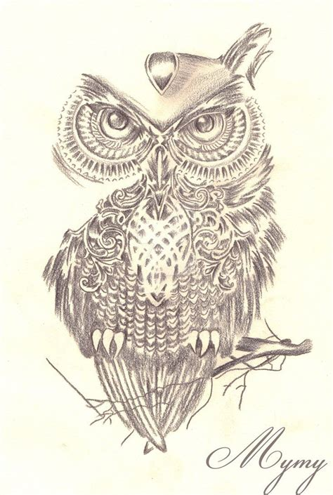 henna tattoo owl here s a commissioned design used micron pens