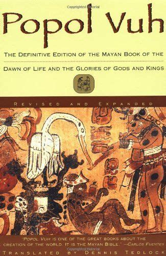 popol vuh 0684818450 popol vuh the definitive edition of the mayan book of the