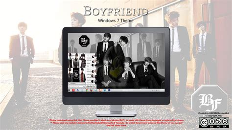 kpop theme win 7 2013 theme boyfriend kpop win 7 by hkk98 on deviantart