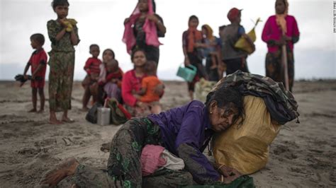 refugee boat crash rohingya refugees flee violence cnn