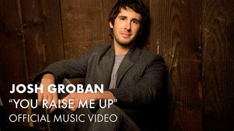 """""""You Raise Me Up"""" by Josh Groban   Mother Son Dance Songs"""
