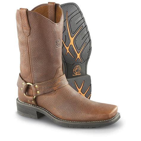 mens brown motorcycle boots men s durango boot 174 harness boots brown 180664