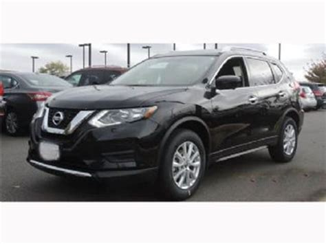 nissan rogue 2017 black 2017 nissan rogue sv awd black lease busters