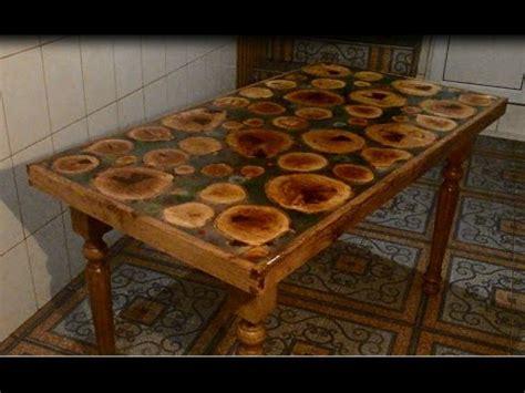 epoxy resin table youtube
