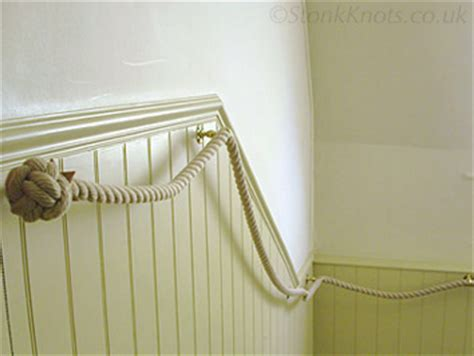 rope banister stair ropes bannister rope rope handrails and barrier