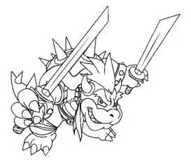 bowser coloring pages bowser coloring pages coloring home