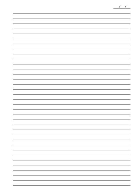 Baixar Folha Papel Pautado Universitario Preto em PDF para