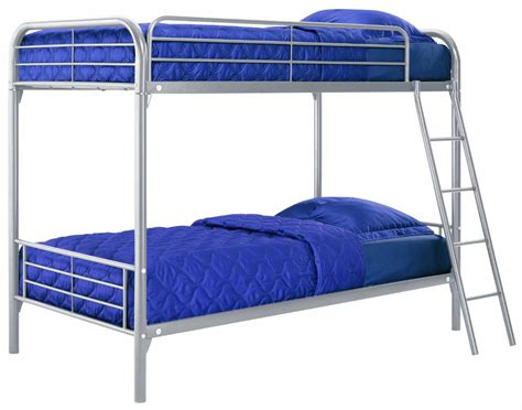 Metal Bunk Bed Ladder Metal Bunk Bed With Ladder In Silver Finish Ladder Beds Noir Vilaine