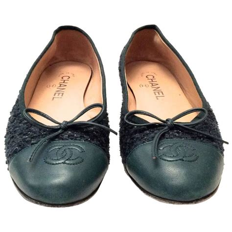 ballerina l for sale chanel ballerina flats size 38 for sale at 1stdibs