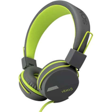 Headphone Sonic Gear sonic gear headphone vibra 5 with mic g green 8886411933760 shop13 gr