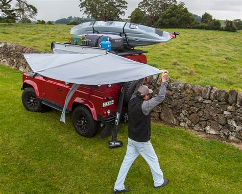 truck cer awnings for sale rhino rack foxwing canopy rhino rack foxwing car awning