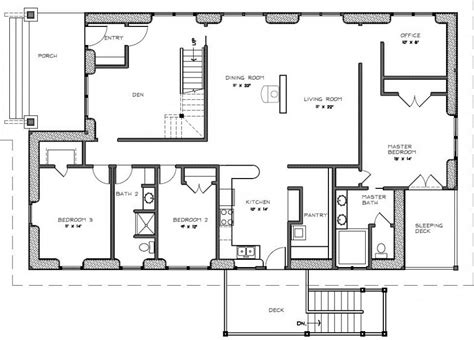 Floor Plans With Porches Two Bedroom House Plans With Porch Small 2 Bedroom House