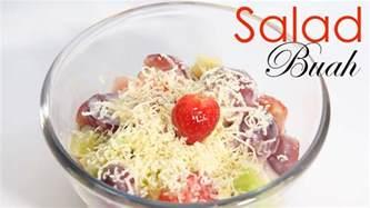 cara membuat salad buah simple cara membuat salad buah youtube