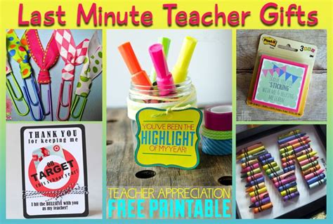 7 Great Gifts For Teachers by 5 Last Minute Gift Ideas Appreciation