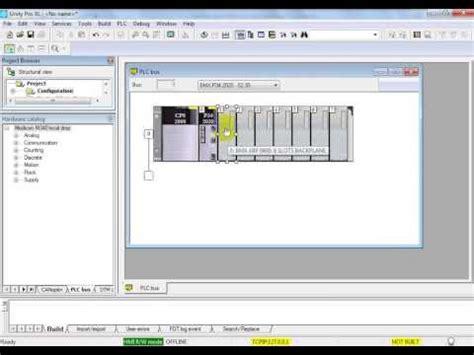 tutorial unity schneider unity pro et m340 part1 plc de schneider electric doovi