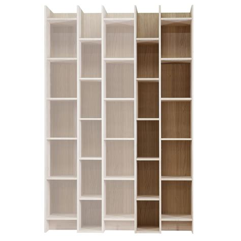 expand cabinet bookcase with extension in oak veneer