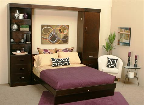 Living Room Cabinets For Small Spaces Living Room Attractive Small Space Living Murphy Bed