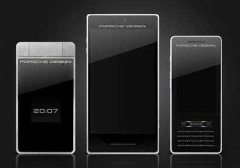 porsche design phone porsche design smartphone captures 3d images concept phones