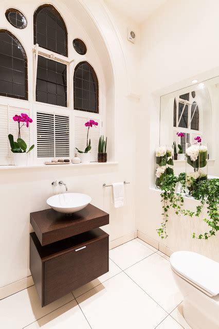 converting powder room to full bath the church conversion