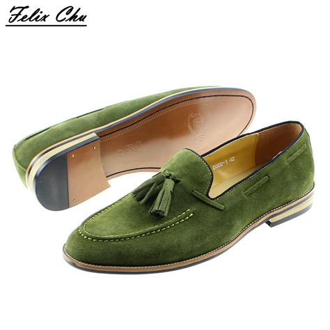 are loafers considered dress shoes brand new smart mens green wedding dress shoes casual
