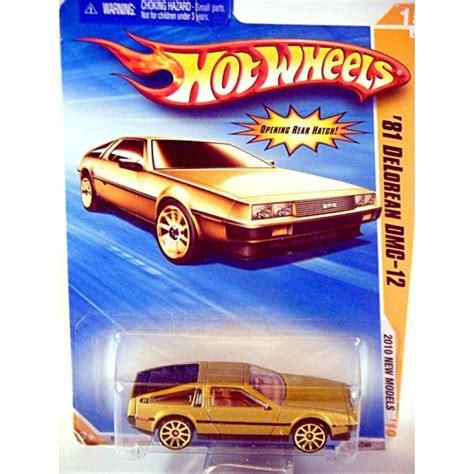 Hotwheels Delorean Dmc 12 1981 wheels 2010 new models series 1981 delorean dmc 12 global diecast direct