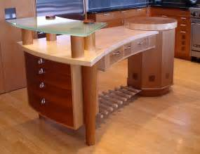 handcrafted wood furniture at the galleria